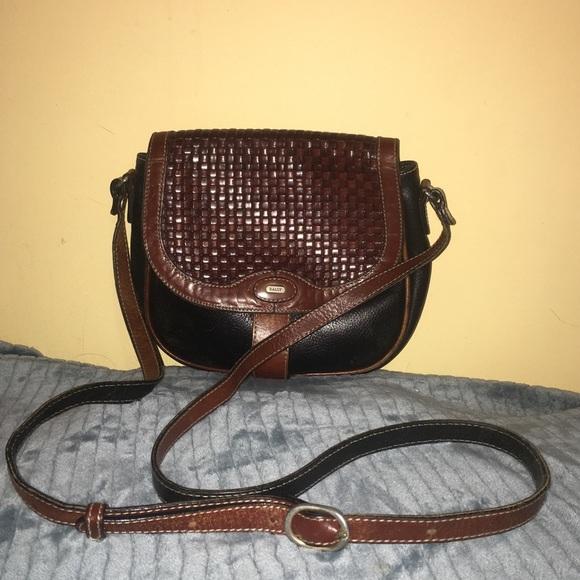 a2833f6b95926 {Bally} Rare vtg Italian leather purse
